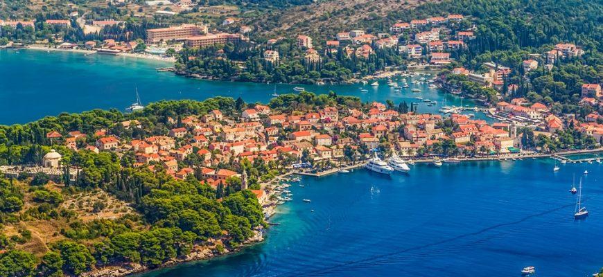 Visit Cavtat: aerial view