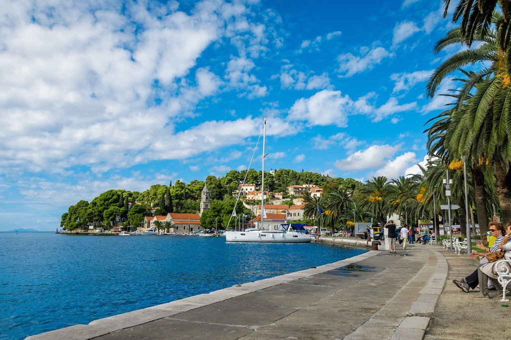 Cavtat waterfront