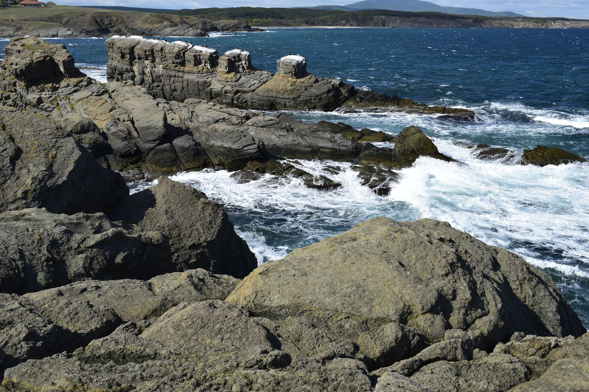 Sinemorets coast