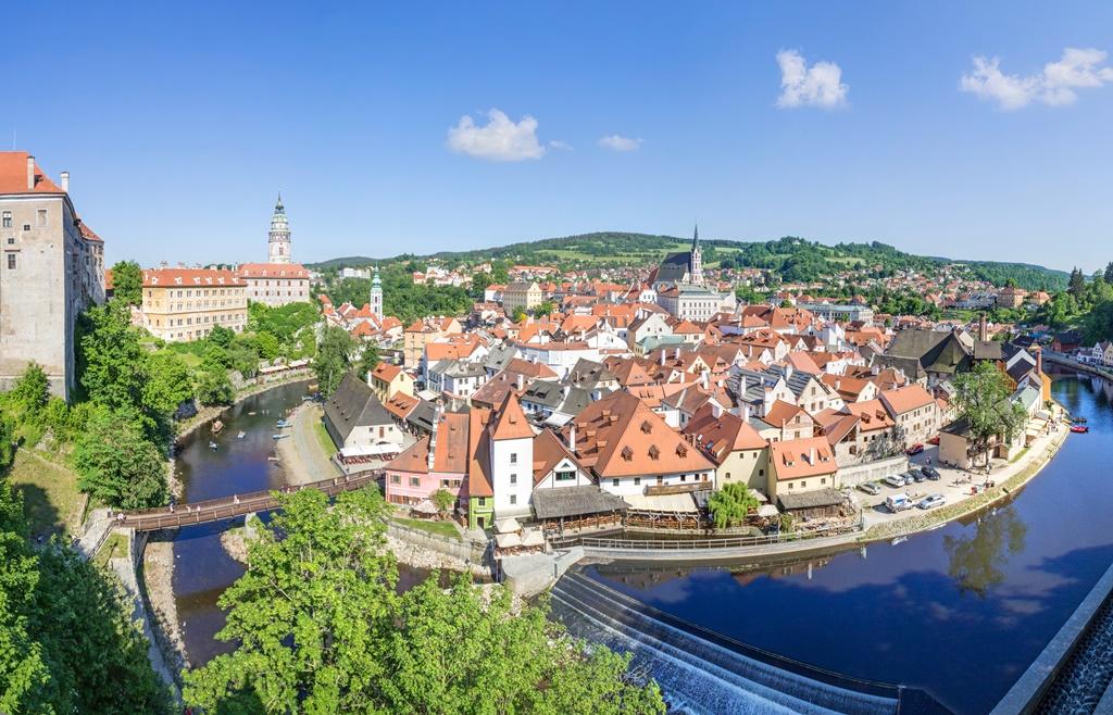 best small towns in the Czech Republic: Cesky Krumlov