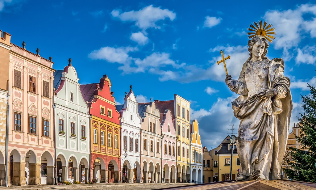 best small towns in the Czech Republic: Telc