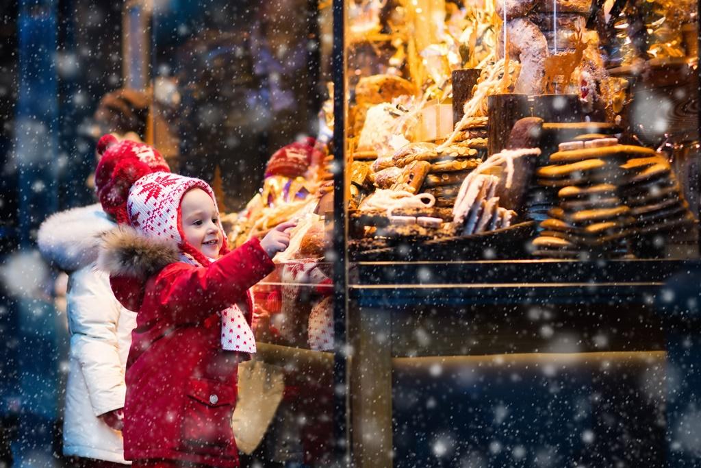 Child at Christmas Market