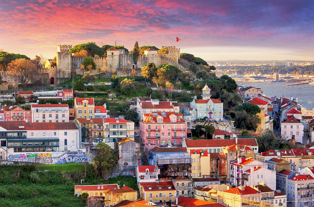 Portugal-vue-du-chateau-de-Sao-Jorge