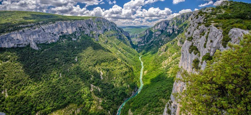 National parks in France: Verdon River