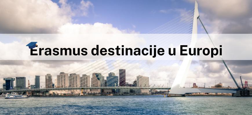 Erasmus destinacije u Europi