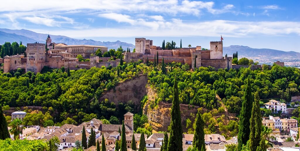 Erasmus cities in Spain: Granada