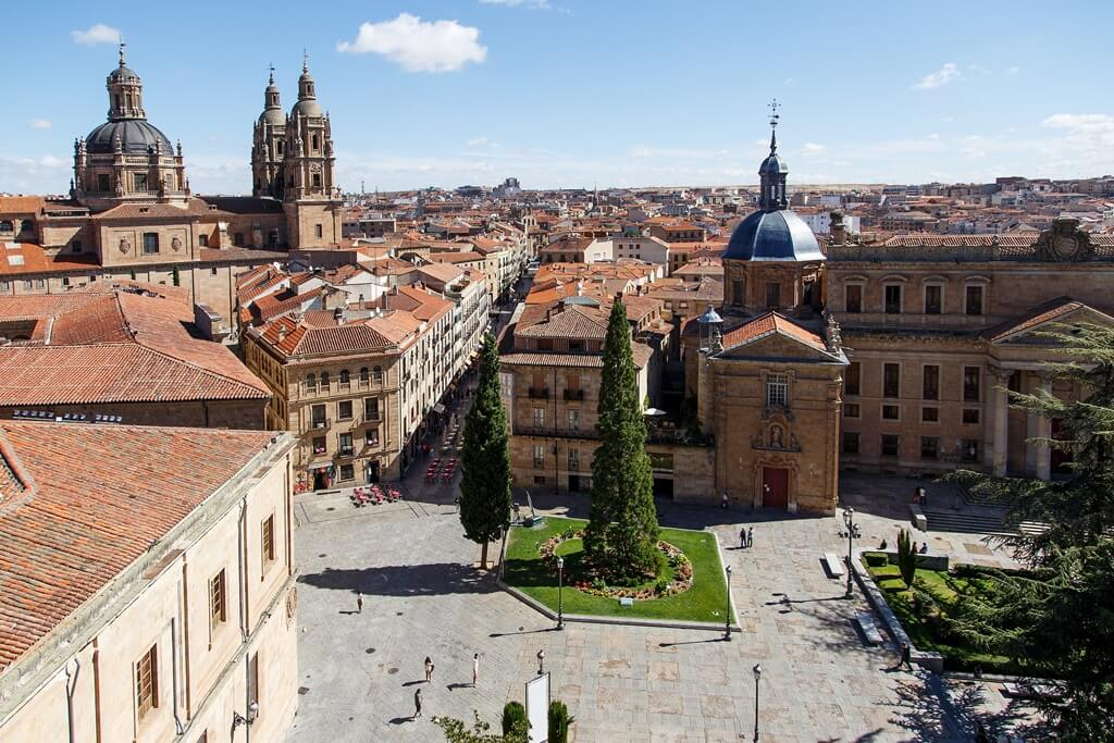 Erasmus cities in Spain: Salamanca