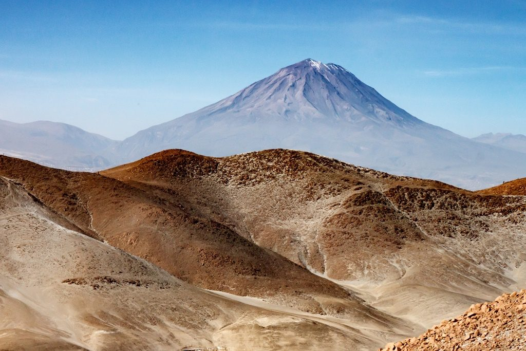 National parks in Peru: The Andes