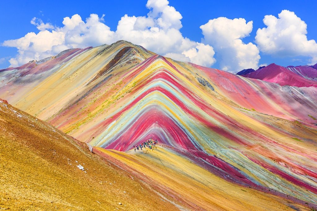 National parks in Peru: Vinicunca, Cusco Region