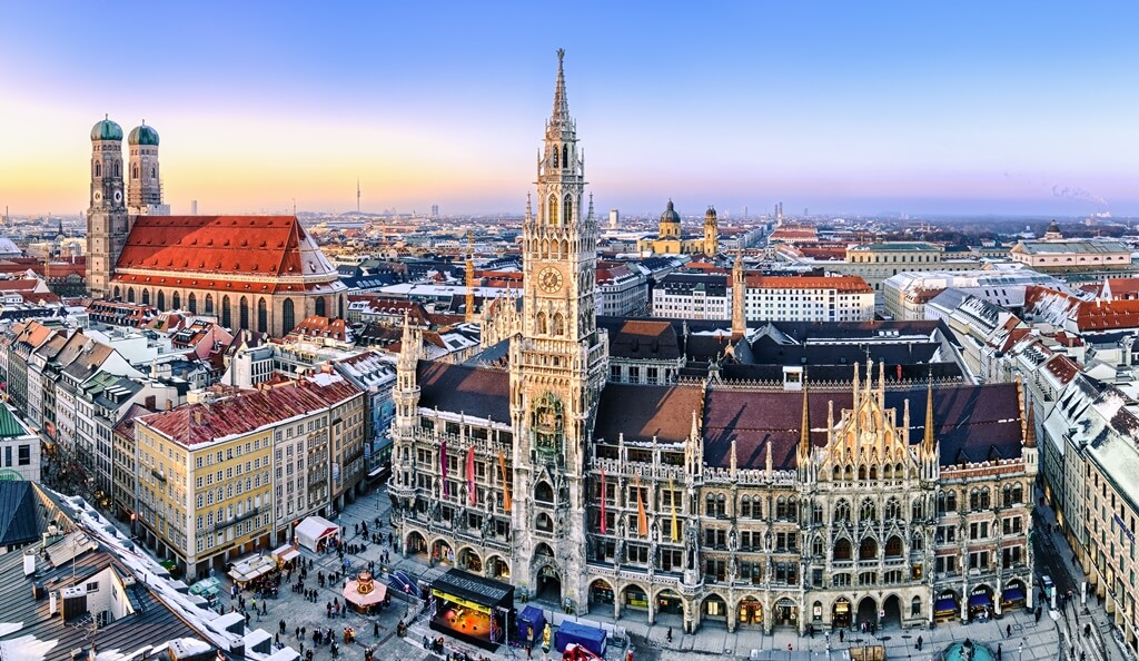 Erasmus cities in Germany: Munich