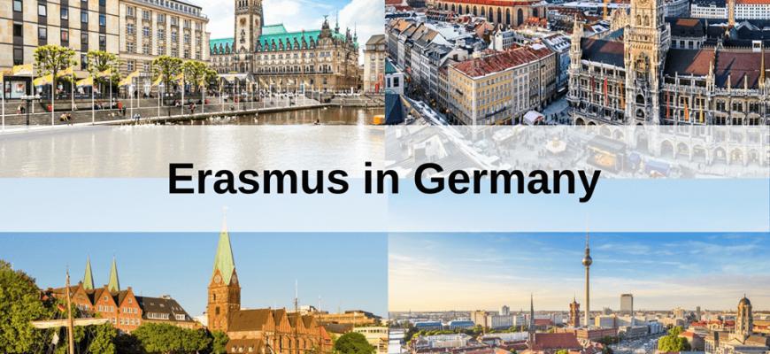 Erasmus cities in Germany